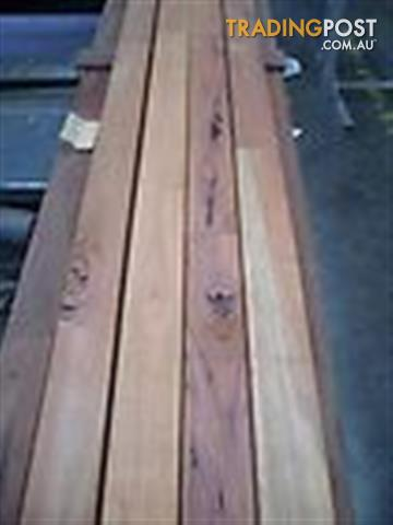 Spotted Gum 86x19mm Feature Grade Decking