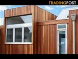 Spotted Gum Timber Shiplap Cladding End Matched