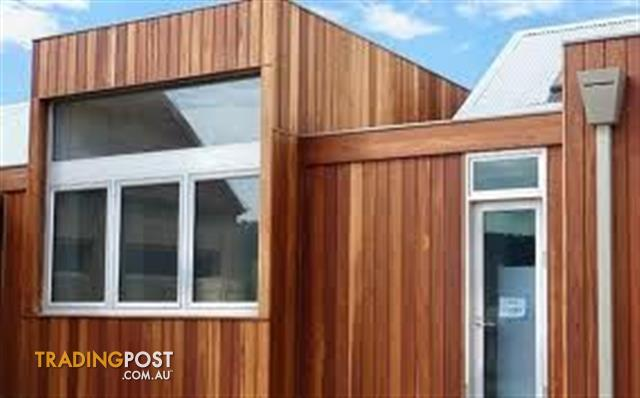 Spotted Gum Timber Shiplap Cladding End Matched For Sale