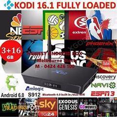 X92 Octa Core Android 6 0 TV BOX 3+16GB S912 bluetooth 5 8G WIFI