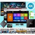 Newest Android 6.0 tv box X96 2GB/ 16GB S905X 4K Kodi loaded wifi
