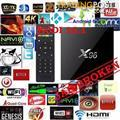 Android 6.0 tv box latest X96 S905X 4K Kodi 16.1 1gb/8gb OTT wifi