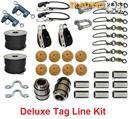 Mega Outrigger Rigging Kit Including Tag Lines And Hal-Lock Pulleys