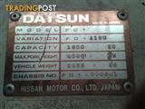 DATSUN FORKLIFT F01