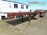 Freighter Semi Flat top Trailer