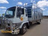 Hino FE Raven Stock/Cattle crate Truck
