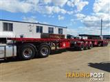 Freighter B/D Combination Flat top Trailer