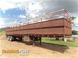Freighter Semi Stock/Crate Trailer