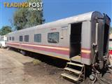 Queensland Rail Train Carriage Transportable Site Accomodation Buildings