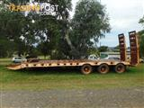 Russell Heale Tag Low Loader/Platform Trailer