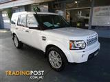 2011 LAND ROVER DISCOVERY 4 3.0 SDV6 SE MY11 4D WAGON