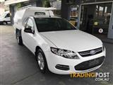 2012  FORD FALCON UTE ECOLPI FG MKII 2D CAB CHASSIS