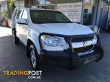 2013  HOLDEN COLORADO LX RG MY13 4D CAB CHASSIS