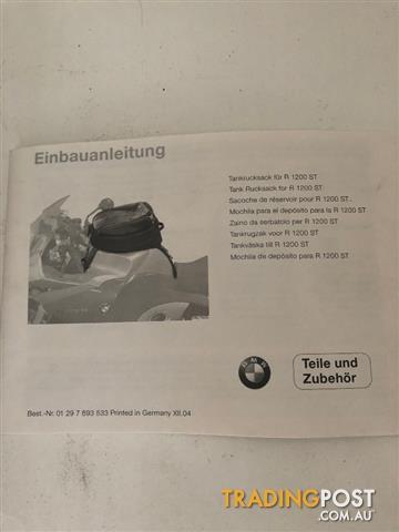 BMW R1200ST Tank Bag Part No. 71607691517