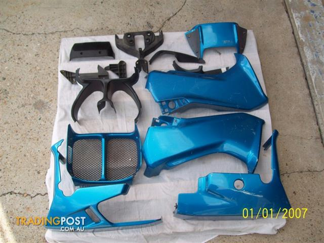 BMW K75S  Fairing Panels and Bellypan