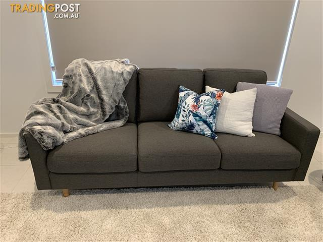 Near-New-2-Seater-3-Seater-Fabric-Sofa-for-sale