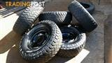 4x4 rims and tires
