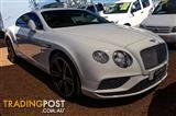 2016  Bentley Continental GT 3W Coupe
