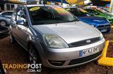 2005  Ford Fiesta LX WP Hatchback