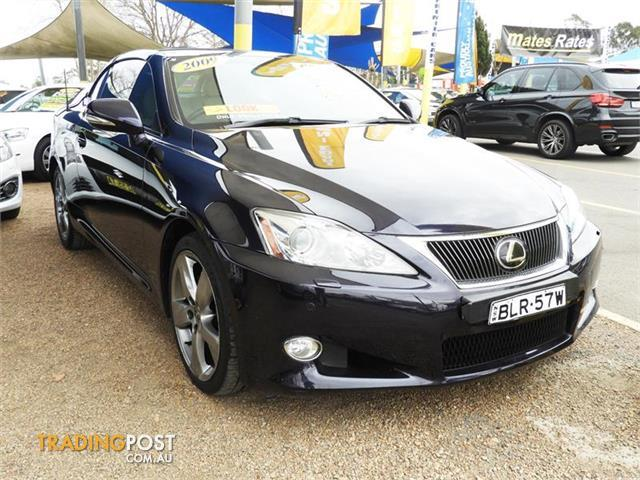 2009 Lexus IS250 C Sports GSE20R Convertible