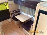 Jayco Expanda Outback 2011 17.56-2 with Double Bunks, Shower & Toilet