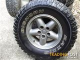 5 Wheels and Tyres to suit Jeep Wrangler