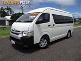2014 TOYOTA HIACE COMMUTER TRH223R MY14 BUS