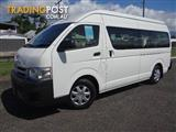 2012 TOYOTA HIACE COMMUTER KDH223R MY11 UPGRADE BUS