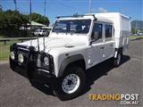2009 LAND ROVER DEFENDER 130 4X4 MY09 CREW CCHAS