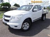 2013 HOLDEN COLORADO LX (4X4) RG SPACE C/CHAS