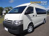 2010 TOYOTA HIACE COMMUTER TRH223R MY07 UPGRADE BUS