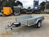 MODERN TRAILERS FULLY HOT DIPPED GALVANIZED ROLLED BODY 7x5
