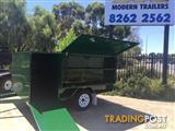 7X5 MODERN TRAILERS LAWN MOWING SINGLE AXLE WITH BRAKE