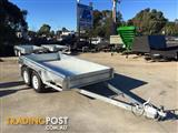 MODERN TRAILERS HOT DIPPED GALVANIZED ROLLED BODY 10x5