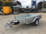 6x4  HOT DIPPED GALVANIZED ROLLED BODY MODERN TRAILERS