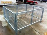 MODERN TRAILERS HOT DIPPED GALVANIZED CAGES 6x4