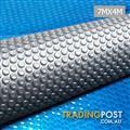 Solar Swimming Pool Cover Bubble Blanket 7m X 4m