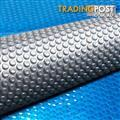 Solar Swimming Pool Cover Protector Bubble Blanket 400 Micron 10m x 4m
