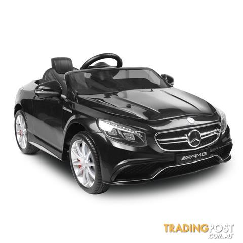 Licensed mercedes benz electric kids ride on car amg s63 for Mercedes benz electric car for kids