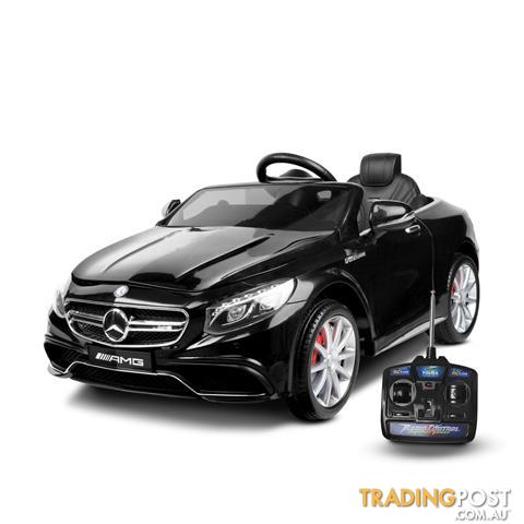Licensed mercedes benz electric kids ride on car amg s63 for Mercedes benz toy car ride on