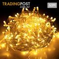 500 LED Fairy Lights Outdoor Christmas Wedding String Party Light Warm White