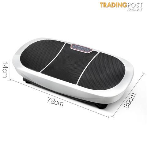 Twin-Motor-Vibration-Plate-1200W-Exercise-Fitness-Weight-Loss-Power