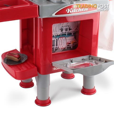 69pcs pretend children mini kitchen kids play set little for Mini kitchen set for kids