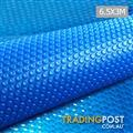 Outdoor Solar Swimming Pool Cover Winter 400 Micron Bubble Blanket 3M X 6.5M