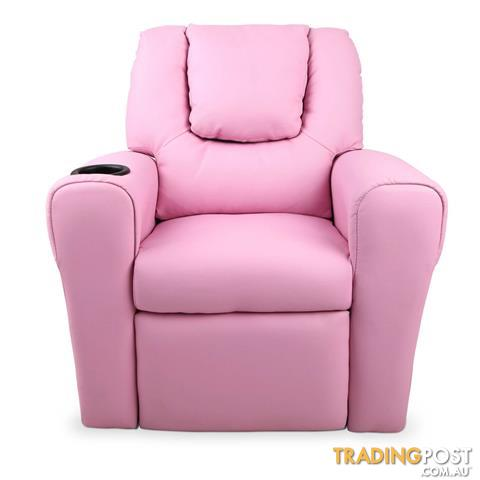 Premium Children PU Leather Sofa Kids Recliner Lounge Padded Arm Chair Pink  sc 1 st  Trading Post & Premium Children PU Leather Sofa Kids Recliner Lounge Padded Arm ... islam-shia.org