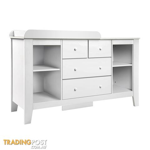 Nordic Nursery Dresser Changing Table
