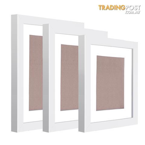 11 Piece Picture Frames Set Multi Wall Photo Home Decor Art White