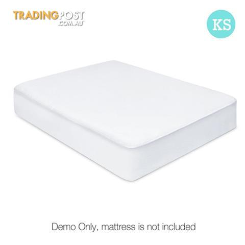 Fitted Non Woven Waterproof Mattress Protector Pu Coating Bed Cover
