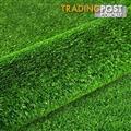 Artificial Grass 20 SQM Polypropylene Lawn Flooring 1X20M Green