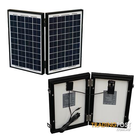 portable jump start power station battary charger 20w work light solar panel for sale in sydney. Black Bedroom Furniture Sets. Home Design Ideas